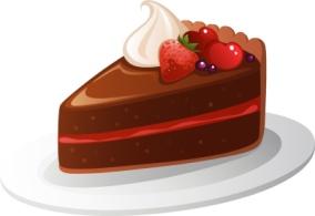 choc cake with fruit 1592371