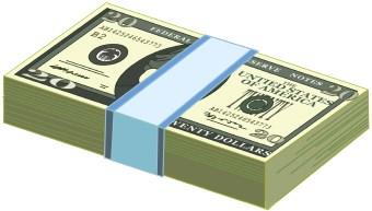 Twenty Dollar Bills 356093