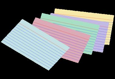 INDEX CARD 40601