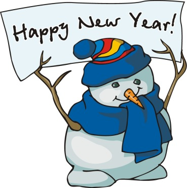 Dec 30 New Year Snow Man nriLE68c8