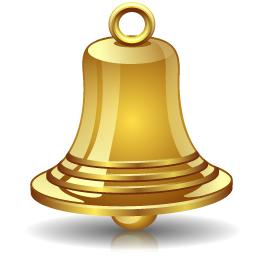 Gold bell alert